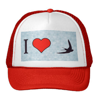 I Love Paragliding Trucker Hat