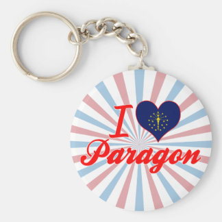 I Love Paragon, Indiana Key Chains
