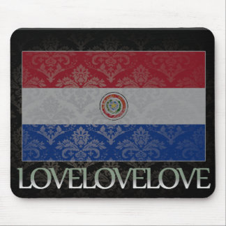 I love Paraguay Cool Mouse Pad