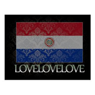 I love Paraguay Cool Postcard