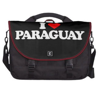 I LOVE PARAGUAY COMMUTER BAGS