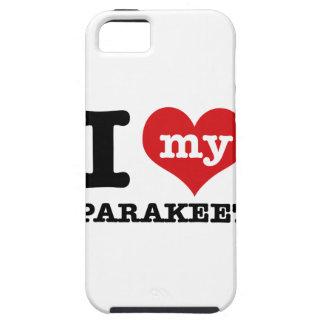 I Love parakeet iPhone SE/5/5s Case