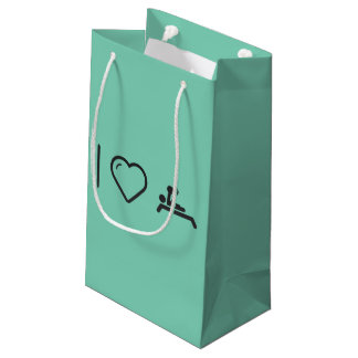I Love Paralympic Olympiads Small Gift Bag