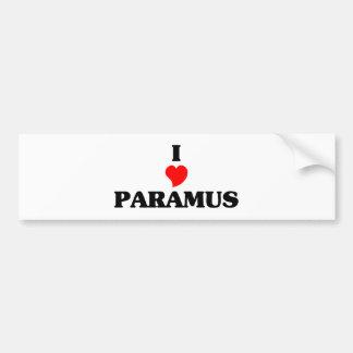 I love Paramus Bumper Sticker