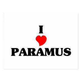 I love Paramus Postcard