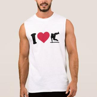 I love Parcouring Sleeveless Shirts