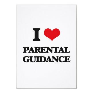 "I Love Parental Guidance 5"" X 7"" Invitation Card"