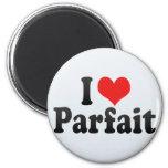 I Love Parfait Magnet