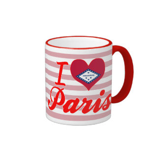 I Love Paris Arkansas Coffee Mug