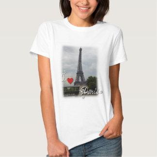 I Love Paris Babydoll Tee