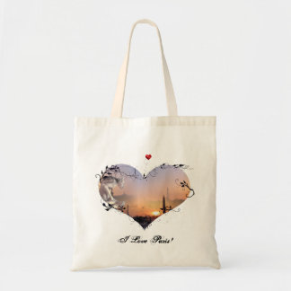 I Love Paris! Budget Tote Bag