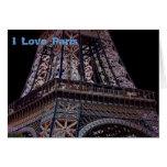 I Love Paris Cards