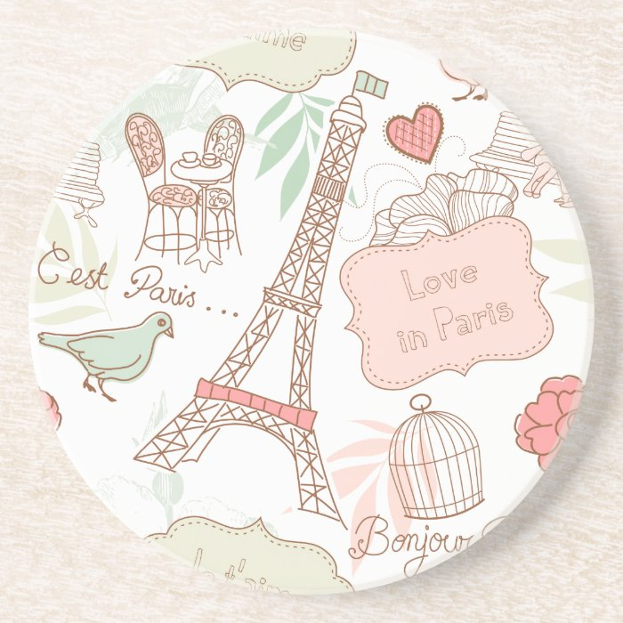 i love paris coaster
