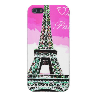 I Love Paris,effel tower Cover For iPhone SE/5/5s