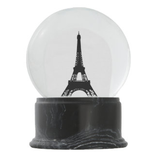 I Love Paris Eiffel Tower Snow Globe