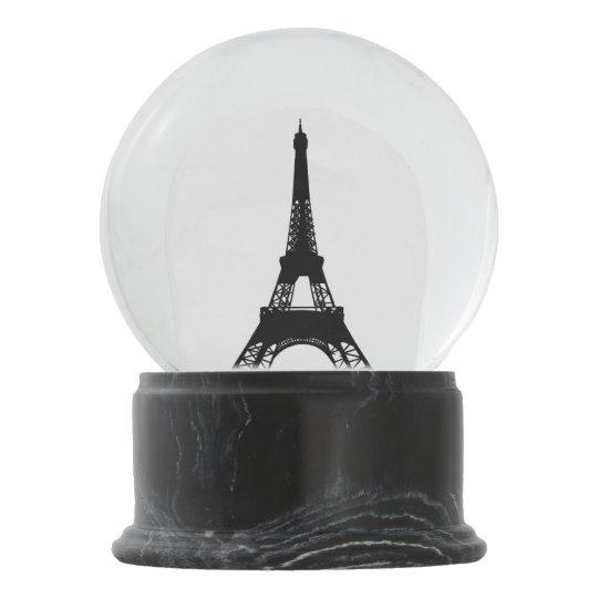 Light Tower Globes: I Love Paris Eiffel Tower Snow Globe