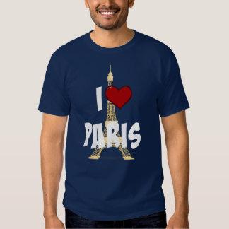 """I Love Paris,"" Eiffel Tower T-Shirt"