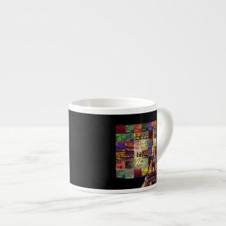 I Love Paris - Espresso Mug 6 Oz Ceramic Espresso Cup