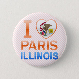 I Love Paris, IL Button