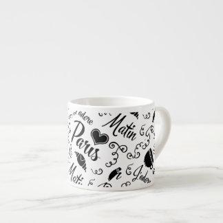 I Love Paris in the Morning Espresso Cup