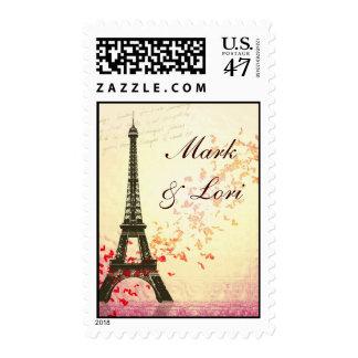 I love Paris in the springtime Postage