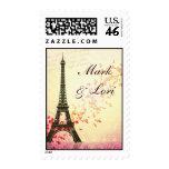 I love Paris in the springtime Postage Stamp