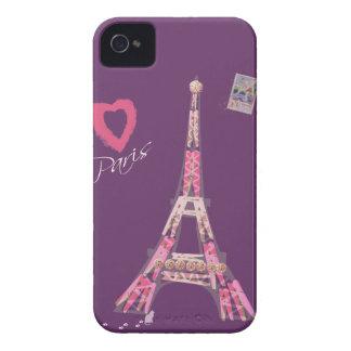 I Love Paris iPhone 4 Cases