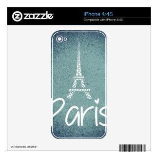 I Love Paris! iPhone 4S Decals