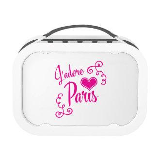 I Love Paris - J'adore Paris Vintage Style Replacement Plate