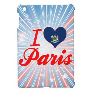 I Love Paris, Maine iPad Mini Cases