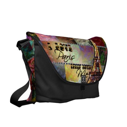 I Love Paris - Messenger Bag