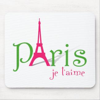 I love Paris Mouse Pad