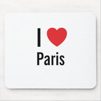 I love Paris Mouse Pads