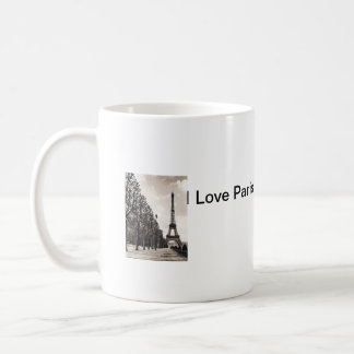 I love Paris Coffee Mug