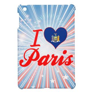 I Love Paris, New York Case For The iPad Mini