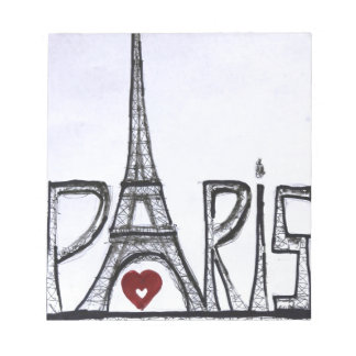 I love Paris Memo Note Pads