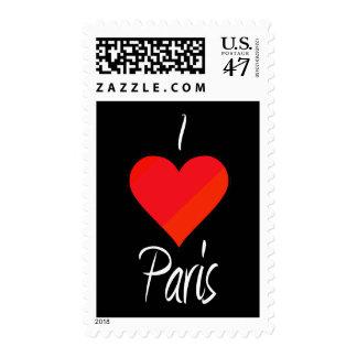 I Love Paris Postage