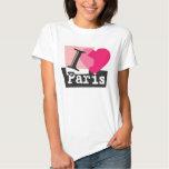 I LOVE PARIS REMERAS