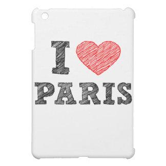 I Love Paris Sketch Case For The iPad Mini