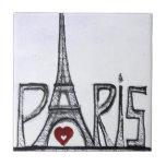 I love Paris Tile