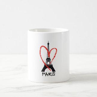 I love Paris with Eiffel tower Coffee Mug