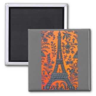 I Love Paris with or w/out text Magnet