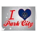 I Love Park City, Utah Greeting Card