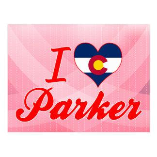 I Love Parker, Colorado Postcard