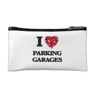 I Love Parking Garages Cosmetic Bag