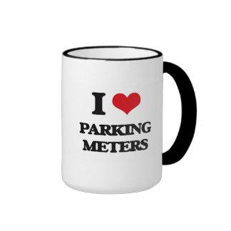 I Love Parking Meters Mugs