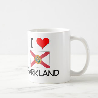 I Love PARKLAND Florida Classic White Coffee Mug