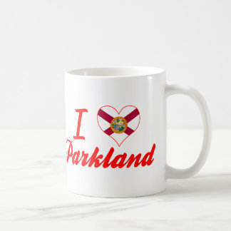I Love Parkland, Florida Classic White Coffee Mug
