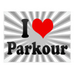 I love Parkour Postcards