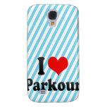 I love Parkour Samsung Galaxy S4 Cases